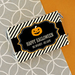 Personalized Classic Halloween Mini Candy Bar Wrappers