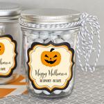 Personalized Classic Halloween Mini Mason Jars