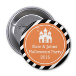 Personalized Halloween Buttons