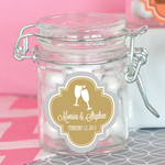 Personalized MOD Pattern Theme Glass Jar