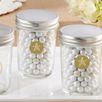 Personalized Printed Mason Jar - Beach Tides (Set of 12)