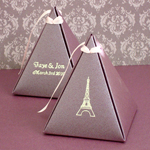 Personalized Pyramid Favor Box - Stardream
