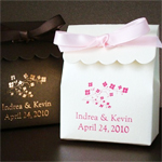 Personalized Scalloped Favor Bags - Stardream