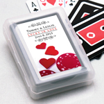 Poker Chips Personalized Playing Cards