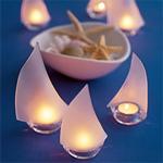 Sailboat Tealight Holders - 6 pcs