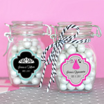 Small Personalized Sweet 16 or 15 Glass Jar