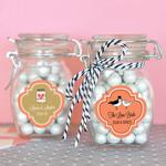 Small Personalized Theme Glass Jar