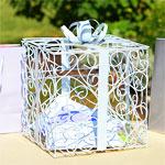 White Gift Reception Card Holder