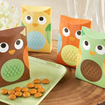 """Whooo's Happy?"" Owl Favor Box (Set of 24)"
