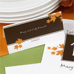 Autumn in New York Place Cards - 25 pcs