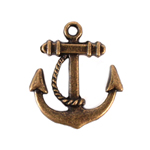 Boat Anchor Charm - Set of 12