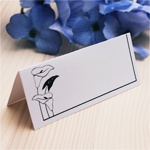 Calla Lily Blank Place Cards - 50 pcs