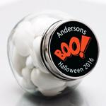 Halloween Personalized Mini Candy Jars