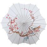 Cherry Blossom Scalloped Paper Parasols