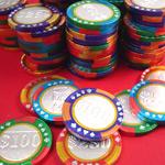 Chocolate Casino Poker Chips