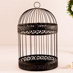 Classic Round Decorative Birdcage Card Holder