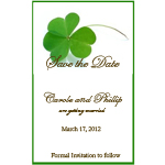 Clover Save The Date Magnets