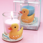 Ducky Candle Holder Favor