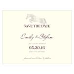 Equestrian Love Save the Date Card
