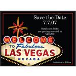 Fabulous Destination Save the date Cards - 25 pcs