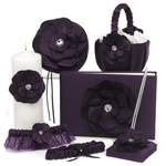 Floral Plum Wedding Collection