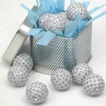 Mini Chocolate Golf Balls - 1 lb
