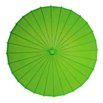 Grass Green Paper Parasol