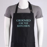 Mindy Weiss Groomed for the Kitchen Men's Apron