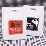 Halloween Personalized Square Tags or Stickers