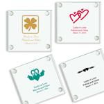 Irish Personalized Glass Coasters