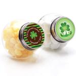 Irish Personalized Mini Candy Jars