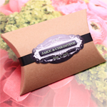 Kraft Pillow Favor Box - 10 pcs
