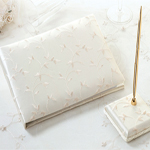 Leaf and Vine Embroidered Ivory Wedding Collection