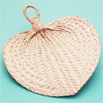 Palm Hand Wedding Favor Fans - 10 pcs