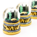 Mini New York Snowglobe Refrigerator Magnet