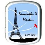 Eiffel Tower Paris Personalized Mint Tins
