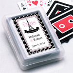 Paris Personalized Playing Cards