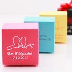 Personalized Square Favor Box