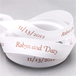 Personalized Continuous Eco-Ribbon - 15 yds