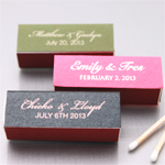 Personalized Lipstick Matchboxes