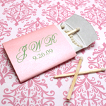 Personalized Pillow Box Matches