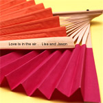 Personalized Solid Color Paper Hand Fans
