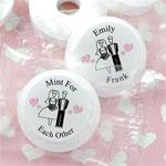Personalized Wedding Life Savers