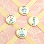"""Personalized Wedding Magnets (1"""")"""