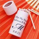 Personalized Barrel Wedding Matches