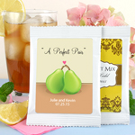 Personalized Themed Wedding Iced Tea Favors