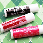 Personalized New York Lip Balm Favor