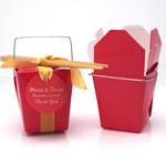 Red Chinese Take Out Box - 12 pcs
