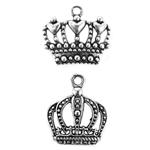 Royal Crown Charms - Set of 12