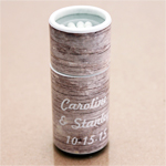 Rustic Wood Personalized Barrel Matches